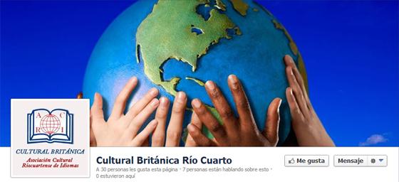 Foto Facebook Cultural Británica Río Cuarto